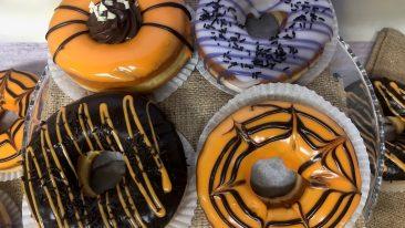 Halloween Doughnuts