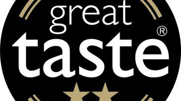 Raspberry ** and Blueberry * Pastel de Nata awarded two and one Great Taste stars